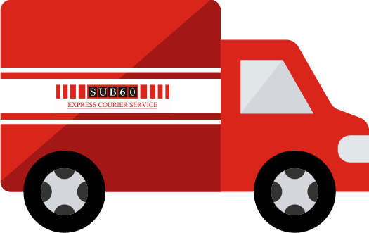 SUB60 Express Courier Service van icon